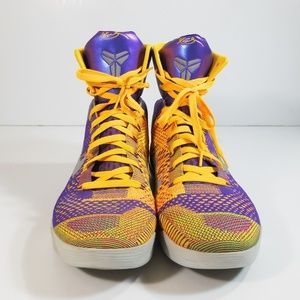 new style 0aadc fb34a Nike. Nike Kobe 9 IX 630847-500 Elite Showtime Lakers 12